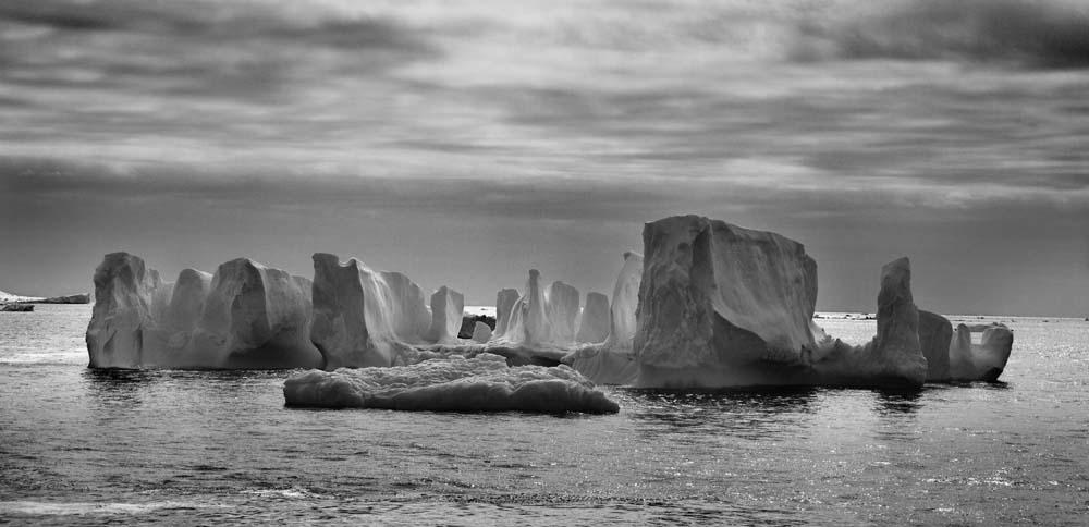 Ice Henge, Antarctica, 2012