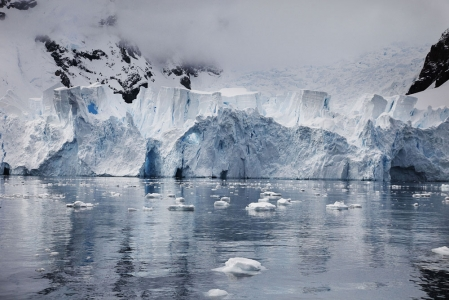 Blue Ice Castle, Antarctica, 2012