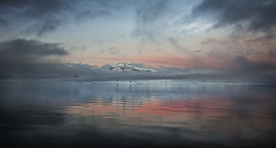 Crocodile Sunset, Antarctica, 2012