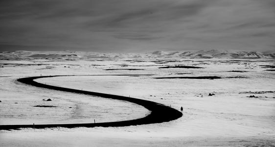 S Shape, Iceland, 2016